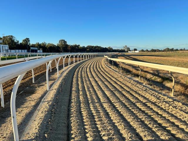 Sand horse track